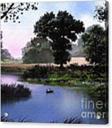 Goose Pond Acrylic Print by Robert Foster