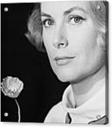 Grace Kelly (1928-1982) Acrylic Print by Granger