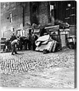 Great Depression, Riverfront Shantytown Acrylic Print by Everett