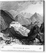 Greece: Souli, 1833 Acrylic Print by Granger