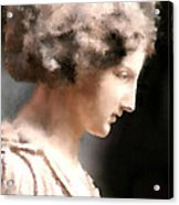 Greek Woman Acrylic Print by Ilias Athanasopoulos