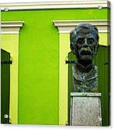Green Acrylic Print by Mauricio Jimenez