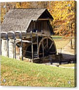 Grist Mill 2 Acrylic Print by Franklin Conour