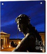 Guardian Angel Of Art Acrylic Print by Paul Ward