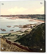 Guernsey - Rocquaine Bay - Channel Islands - England Acrylic Print by International Images