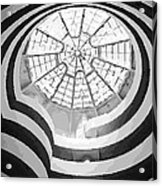 Guggenheim Museum Bw16 Acrylic Print by Scott Kelley
