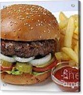 Hamburger  Acrylic Print by Ilan Amihai
