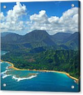 Hanalei Bay 2 Acrylic Print by Ken Smith