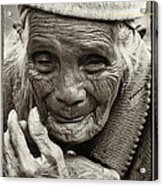 Hands Of Time Acrylic Print by Skip Nall