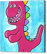 Happosaur Acrylic Print by Jera Sky