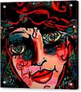 Happy Girl Acrylic Print by Natalie Holland