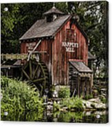 Harpers Mill Acrylic Print by Heather Applegate