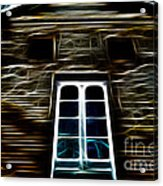 Haunted House Acrylic Print by Cheryl Young
