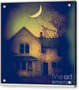 Haunted House Acrylic Print by Jill Battaglia