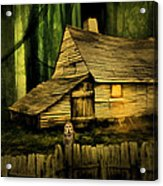 Haunted Shack Acrylic Print by Lourry Legarde