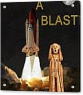 Have A Blast Acrylic Print by Eric Kempson