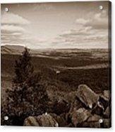 Hawk Mountain Sanctuary S Acrylic Print by David Dehner