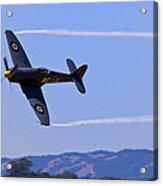 Hawker Sea Fury Acrylic Print by Garry Gay