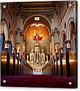 He Is Watching Over Acrylic Print by Anthony Citro