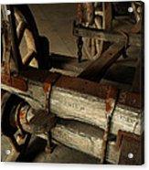 Heavy Hauler - Vintage Wagon Acrylic Print by Steven Milner