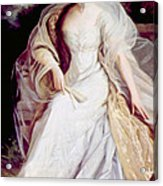 Helen Taft 1861-1943, First Lady Acrylic Print by Everett