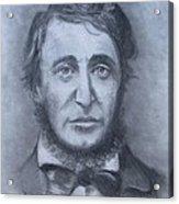 Henry David Thoreau Acrylic Print by Jack Skinner