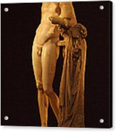 Hermes And The Infant Acrylic Print by Bob Christopher