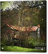 Hidden House In Spring Acrylic Print by Joyce Kimble Smith