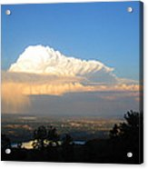 High Plains Thunder Acrylic Print by Ric Soulen