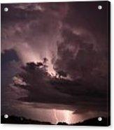 Highway Weather Acrylic Print by David Paul Murray