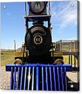 Historic Jupiter Steam Locomotive Acrylic Print by Gary Whitton