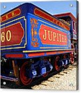 Historic Jupiter Train - Promontory Point National Historic Park Acrylic Print by Gary Whitton