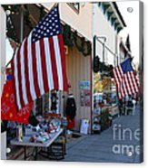 Historic Niles District In California Near Fremont . Main Street . Niles Boulevard . 7d10692 Acrylic Print by Wingsdomain Art and Photography