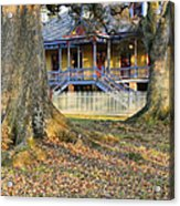 Historic Plantation Slave Quarters Acrylic Print by Jeremy Woodhouse
