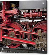 Historical Steam Train Acrylic Print by Heiko Koehrer-Wagner