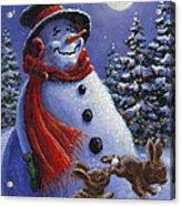 Holiday Magic Acrylic Print by Richard De Wolfe