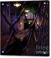 Hollywood Studio's - Rock N Roller Coaster Acrylic Print by AK Photography