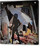 Homewrecker Acrylic Print by The Stone Age