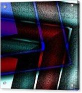 Horizontal Symmetry Acrylic Print by Mario Perez