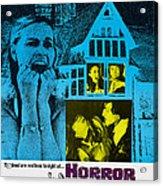 Horror House, Aka The Haunted House Of Acrylic Print by Everett