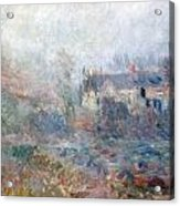 House At Falaise Acrylic Print by Claude Monet