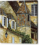 Houses In Sarlat Acrylic Print by Scott Nelson