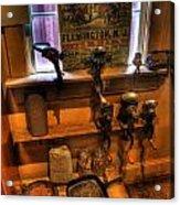 Hunterdon County Fair - General Store - Vintage - Nostalgia - Meat Grinders Acrylic Print by Lee Dos Santos