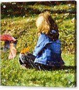 I Believe In Fairies Acrylic Print by Nikki Marie Smith