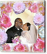 I Pronounce You Husband And Wife Acrylic Print by Terry Wallace