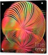 Ice Plant Acrylic Print by Kim Sy Ok