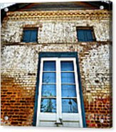 If Bricks Could Talk Acrylic Print by Cheryl Young