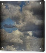 If The World Ends Today Acrylic Print by Laurie Search