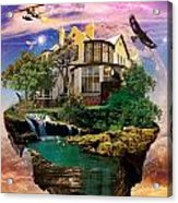 Imagination Home Acrylic Print by Pierre Louis
