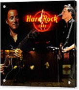 In The Hard Rock Cafe Acrylic Print by Stefan Kuhn